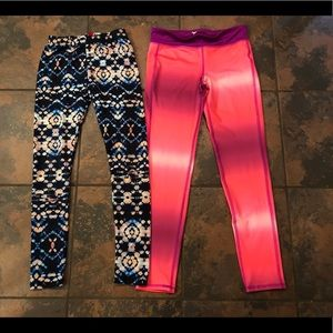 Nice leggings size large 10-12